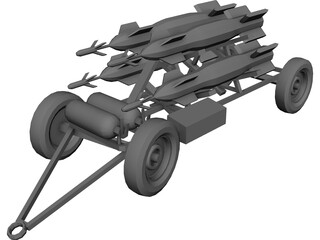 Bomblauncher 3D Model