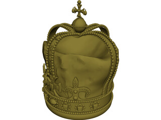 Crown 3D Model 3D Preview