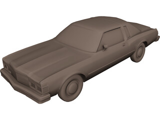 Chrysler Lebaron (1979) 3D Model