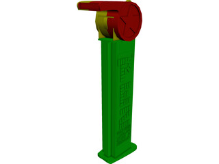 Pez Dispenser 3D Model