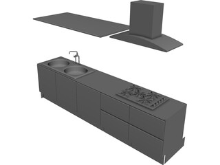 Kitchen Elam E5 3D Model