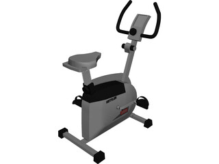 Kettler Exercise Bike 3D Model