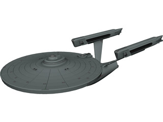 Star Trek Enterprise 3D Model