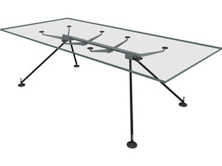 Table Norman Foster 3D Model
