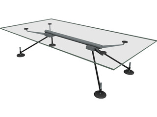 Table Norman Foster Low 3D Model