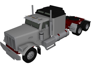 Freightliner Aerodyne 3D Model 3D Preview
