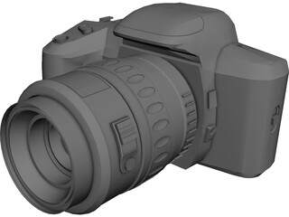 Pentax Photocamera (35mm) 3D Model