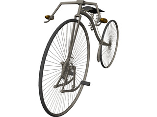 Bicycle Facile 3D Model