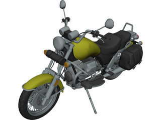 Moto Guzzi 1100i California 3D Model