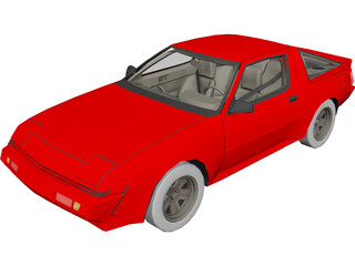Mitsubishi Conquest (1988) 3D Model