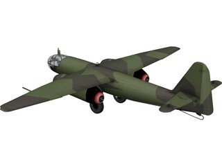 Arado AR-234 3D Model 3D Preview