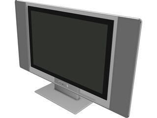 Plasma TV 3D Model 3D Preview