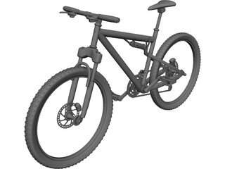 Bike Mountain 3D Model
