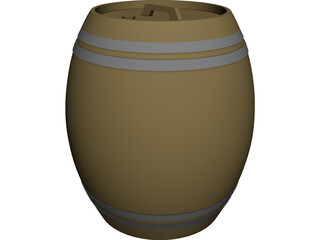Beer Barrel Dispencer 3D Model