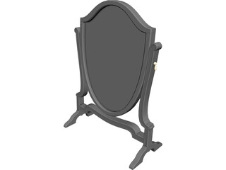 Mirror Floor Big 3D Model