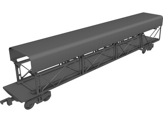 Car Carrier 3D Model