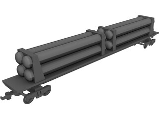 Pipe Carrier 3D Model 3D Preview