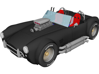 Shelby Cobra [Supercharged] 3D Model