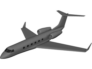Gulfstream IV  3D Model 3D Preview