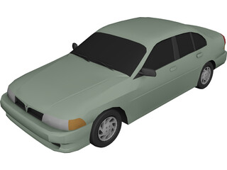 Mitsubishi Mirage 3D Model