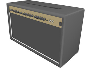 Marshall AMP MG100DFX 3D Model