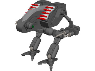 Mad Dog Battletech 3D Model