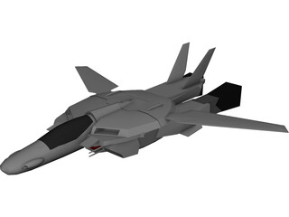 Veritech Fighter 3D Model