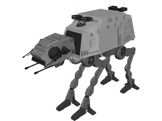 Star Wars Advanced ATAT 3D Model
