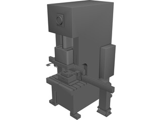 Press Machine CAD 3D Model