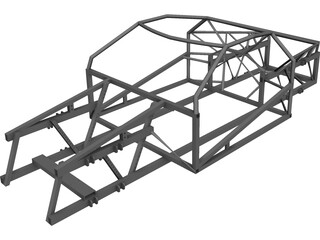 Frame Wisniewski One 1 V8 CAD 3D Model