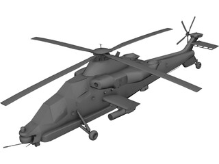 Denel AH-2 Rooivalk 3D Model