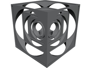 Turner Cube [NURBS] 3D Model