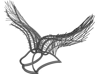 Wings CAD 3D Model