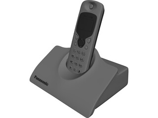 Panasonic Phone 3D Model