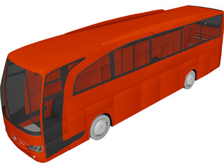 Mercedes-Benz Travego (2011) 3D Model