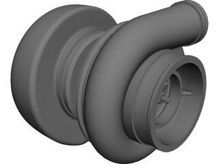 Turbo T06 CAD 3D Model