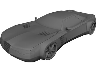 Alfa Romeo Concept 3D Model 3D Preview