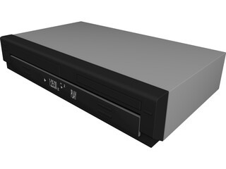 Panasonic DVD 3D Model