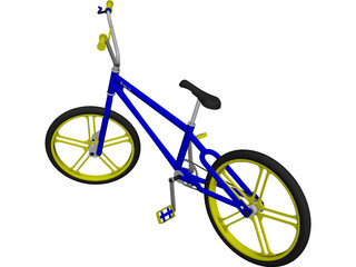 BMX Bike [NURBS] 3D Model
