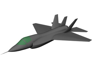 Lockheed Martin JSF F-35 CAD 3D Model