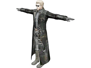 Albert Wesker 3D Model