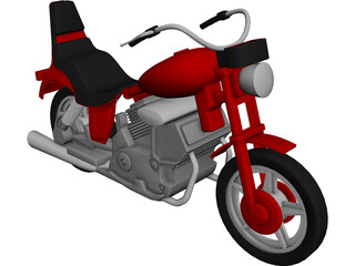 Motorcycle CAD 3D Model