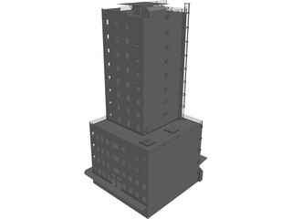 Fire Training Facility High Rise 3D Model