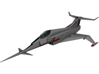 Angel Interceptor 3D Model