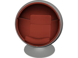Ball Chair 3D Model