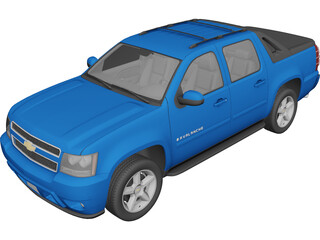 Chevrolet Avalanche (2010) 3D Model