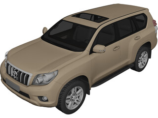 Toyota Land Cruiser Prado 150 (2010) 3D Model