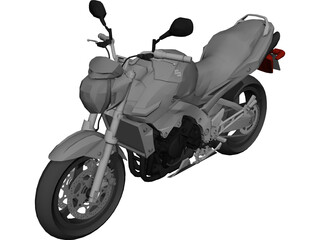 Suzuki GR6 3D Model 3D Preview