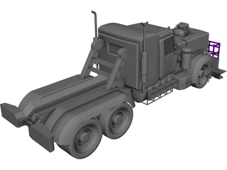 Peterbilt 359 Monster 3D Model
