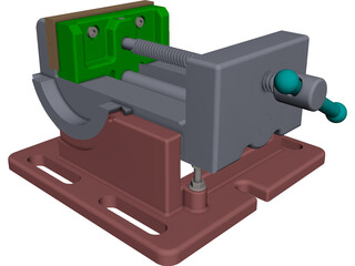 Clamp CAD 3D Model